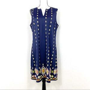 Jude Connolly Allison Assorted Dress Blue XL